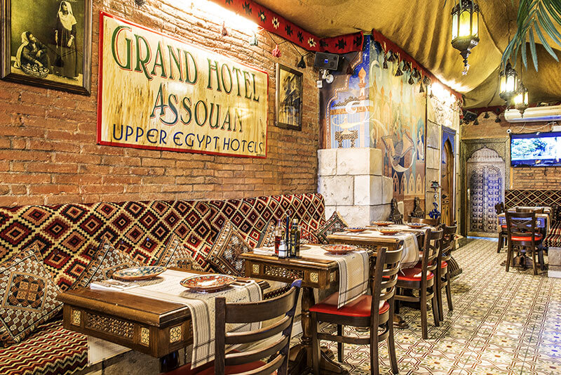 Galeria restaurante aladdin for Aladdin cuisine stoke